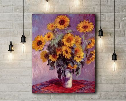 Vincent van Gogh: Sunflowers. Fine Art Canvas.
